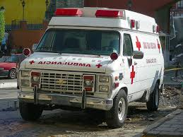 Chevy ambulance van