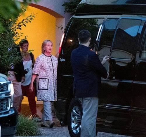 Hillary's ambulance van
